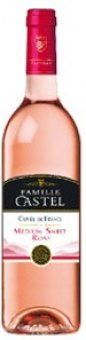 Víno Rosé Cuvée medium sweet Famille Castel