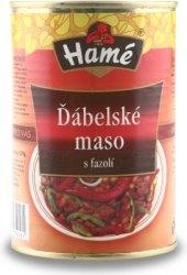 Dábelské maso s fazolí Hamé - konzerva