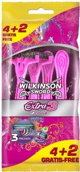 Holítka jednorázová dámská Beauty Extra 3 Wilkinson