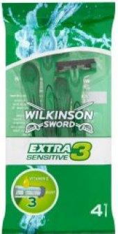 Holítka jednorázová dámská Sensitive Extra 3 Wilkinson