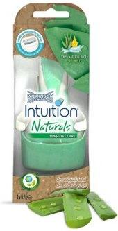 Sada na holení dámská Intuition Naturals Wilkinson