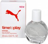 Toaletní voda dámská Time to play Puma