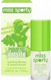 Toaletní voda dámská Pump Up Booster Miss Sporty