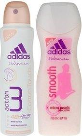 Balíček dámský deodorant sprej + sprchový gel Adidas
