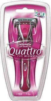 Strojek holící dámský Quattro Wilkinson