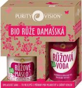 Dárková kazeta bio Růže damašská Purity Vision