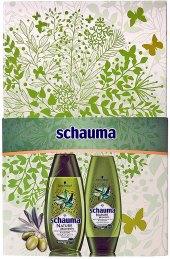 Dárková kazeta dámská Nature Moments Olive Schwarzkopf Schauma