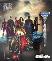 Dárková kazeta Mach 3 Turbo Justice League Gillette