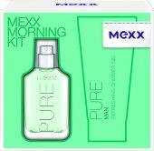 Dárková kazeta pánská Pure Morning Kit Mexx
