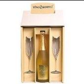 Sekt Elegant blanc Víno z Kobylí - dárkové balení