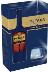 Brandy 12* Metaxa - dárkové balení