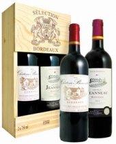 Vína Bordeaux Selection - dárkové balení