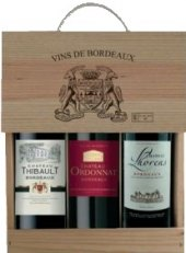 Vína Vins de Bordeaux - dárkové balení