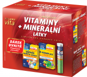 Doplněk stravy Vitamíny + minerální látky MaxiVita - dárkové balení