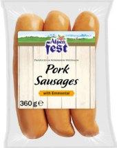 Delikatesní klobása s ementálem Alpen Fest