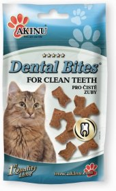Pamlsky pro kočky Dental Bites Akinu