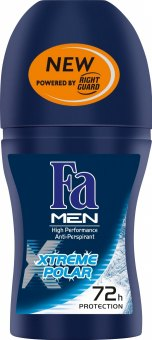 Deodorant kuličkový roll on Xtreme Men Fa