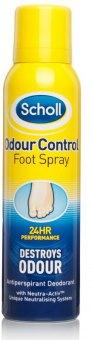 Deodorant sprej na nohy Scholl
