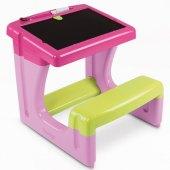 Dětská lavička se stolečkem