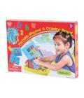 Dětská magnetická tabule Playgo