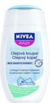 Dětská olejová koupel Nutri Sensitive Nivea Baby