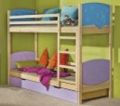 Dětská patrová postel Herry