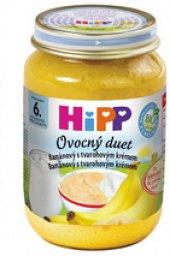 Svačinka s tvarohem dětská Ovocný duet Bio HiPP