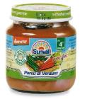 Dětská zeleninová přesnídávka bio Sunval