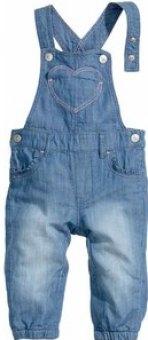 Dětské kalhoty s laclem Lupilu