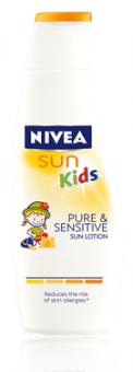 Mléko dětské na opalování Pure&Sensitive Sun Nivea
