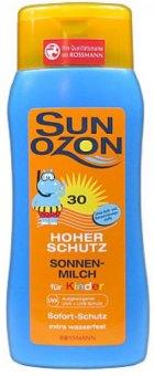 Mléko dětské na opalování SPF 30 Sun Ozon