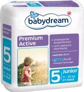 Pleny dětské Babydream Premium Active