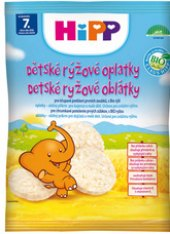 Oplatky rýžové dětské Bio Hipp