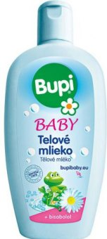 Tělové mléko dětské Bupi
