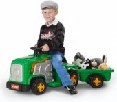 Dětský elektrický traktor Kids World