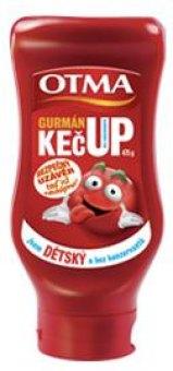 Kečup dětský gurmán Otma