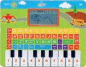 Dětský laptop s pianem Carousel