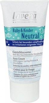Dětský pleťový krém Neutral Lavera