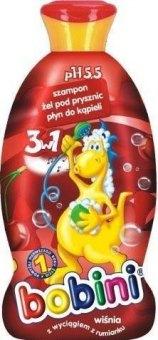 Dětský šampon&sprchový gel a pěna 3v1 Bobini