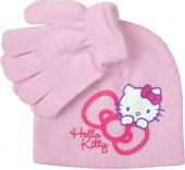Dětský set čepice a rukavice