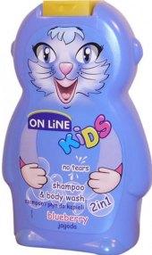 Šampon a sprchový gel 2v1 dětský On Line