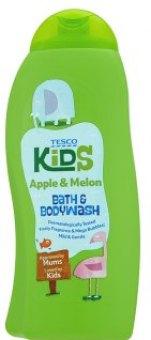 Sprchový gel a pěna do koupele dětský Tesco