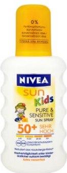 Sprej dětský na opalování OF 50 Pure&Sensitive Sun Nivea