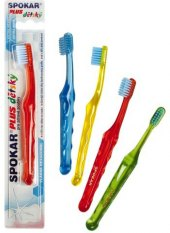 Kartáček na zuby dětský Plus Spokar