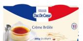 Dezert krémový Créme Brulée Duc De Coeur