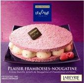 Dezert mražený Le plaisir Framboises-Nougatine Labeyrie