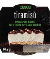 Dezert Tiramisu Tesco