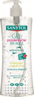 Dezinfekční gel na ruce Sanytol