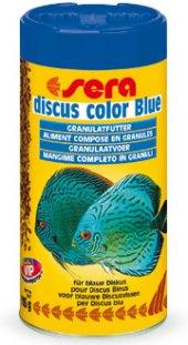 Krmivo doplňkové pro terčovce Discus Color Blue Sera