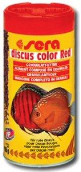 Krmivo doplňkové pro terčovce Discus Color Red Sera